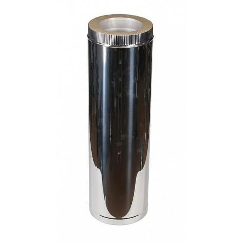 Труба сэндвич 500 мм 2T AISI 310 для дымохода из нержавеющей стали