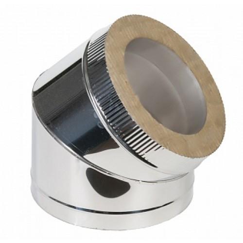Отвод 45° 2OT45 AISI 310 из нержавеющей стали